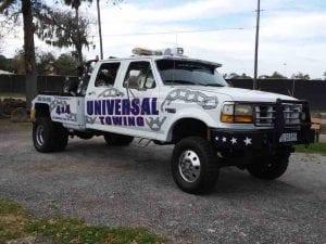 A Beach Tow Truck that can go anywhere
