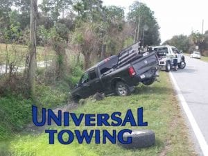 Dodge Truck Before New Smyrna Beach Towing Services Team from Universal Towing Does its Thing